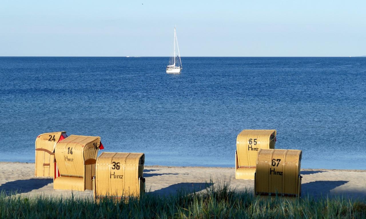 Abendstimmung an der Ostsee bei Henner Hinz Haffkrug