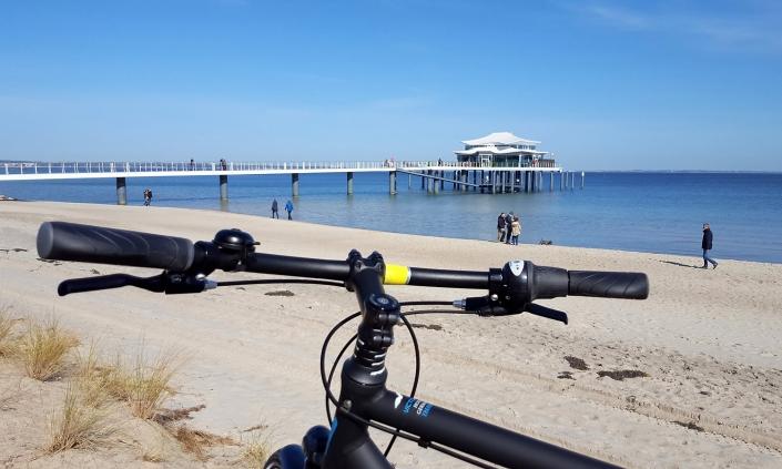 Radtour Timmendorfer Strand Seebrücke mit Teehaus