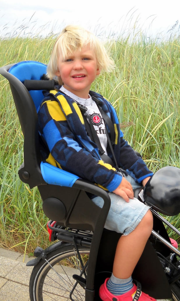 Radtour im Kindersitz