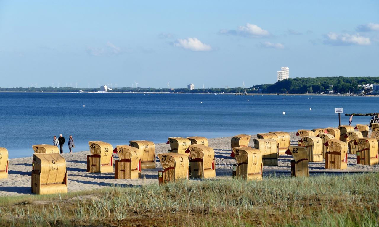 Strankorbvermietung Henner Hinz Haffkrug Ostsee