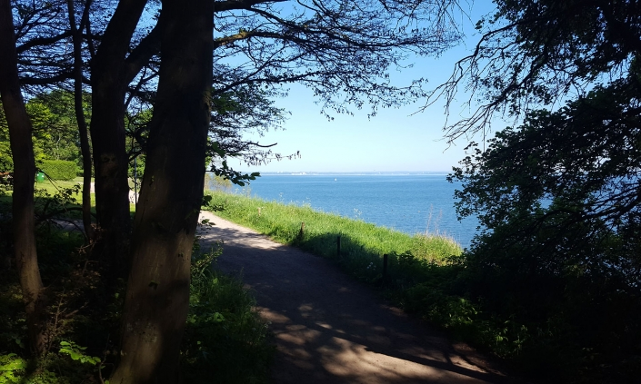 Radtour Brodtener Ufer Steilküste