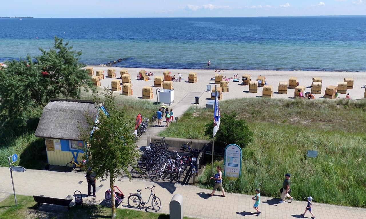 Radverleih Strandkörbe Henner Hinz Haffkrug Ostsee