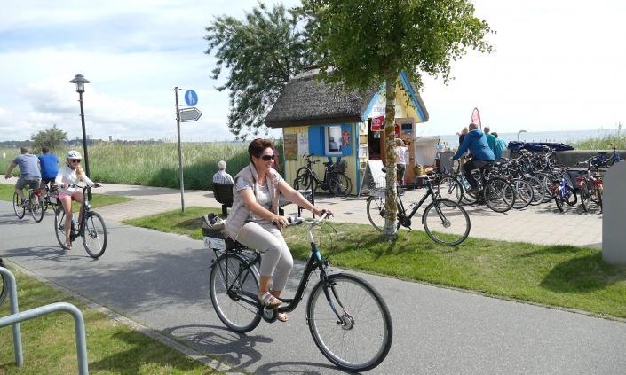 Fahrradverleih Henner Hinz Haffkrug Ostsee