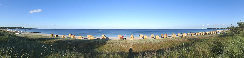 Strandkorbverleih Henner Hinz Haffkrug Ostsee