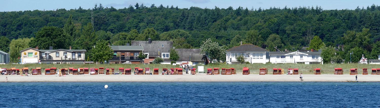 Strandkörbe Henner Hinz Ostsee Haffkrug